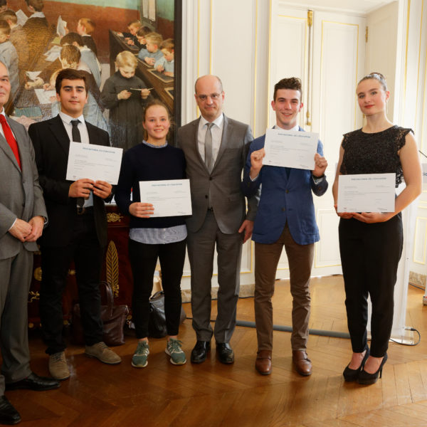 Prix national de l'Education 2016-2017 © MEN - Philippe Duvernay